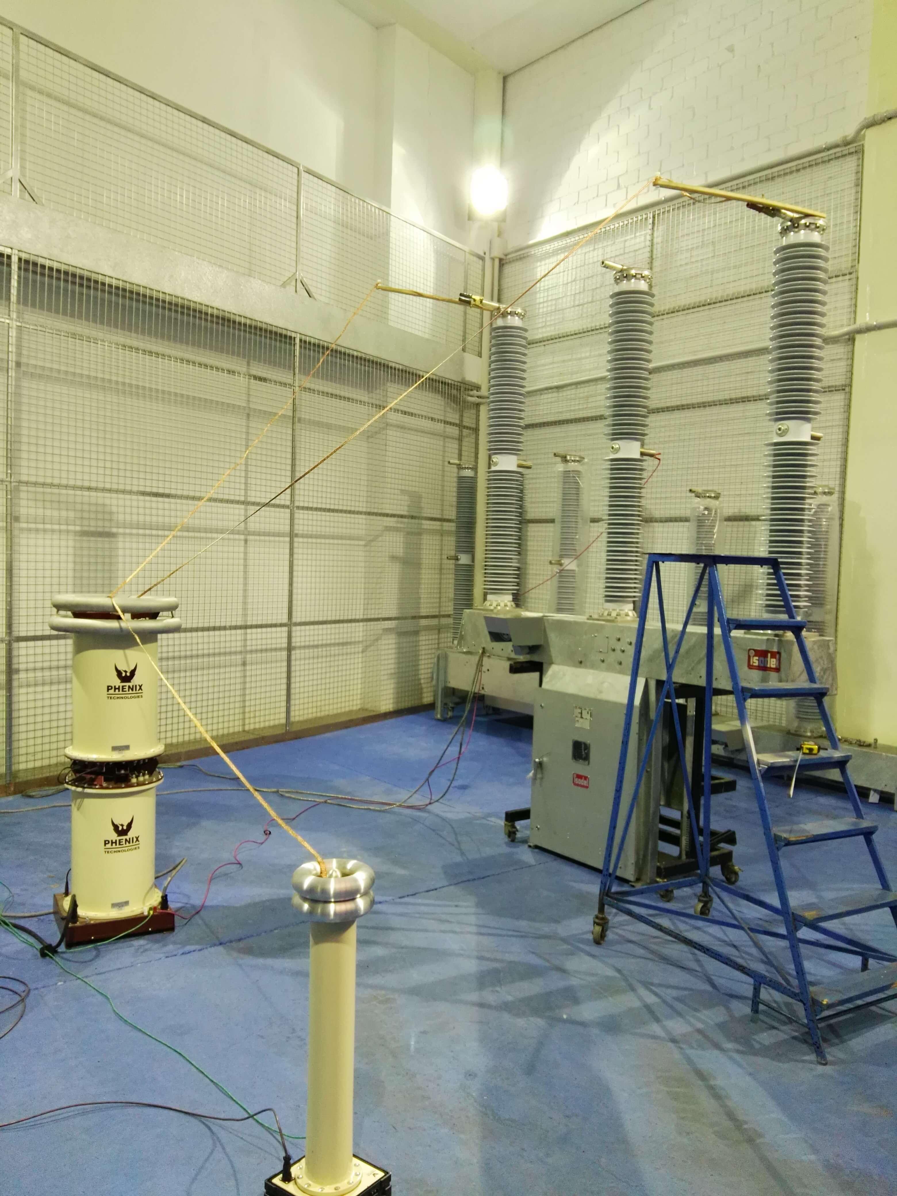 MEDIDA AISLAMIENTO INT 72,5 kV